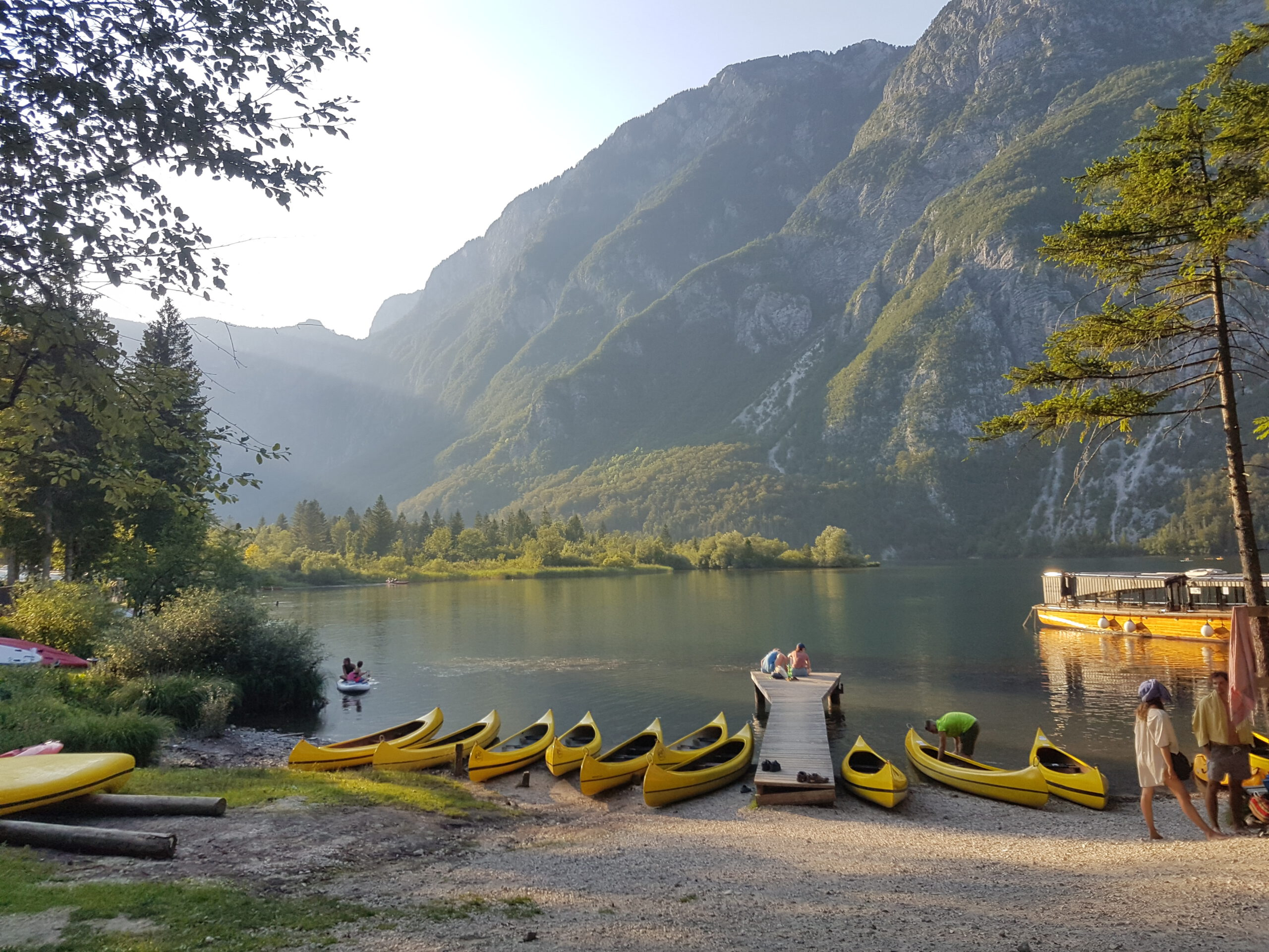 You are currently viewing Tag 1 am  Bohinj See
