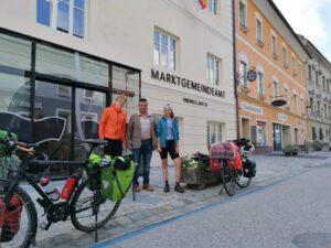Read more about the article Ein Treffen mit dem  Bürgermeister von Freisings Partnergemeinde Obervellach