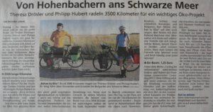 Read more about the article Der erste Zeitungsartikel